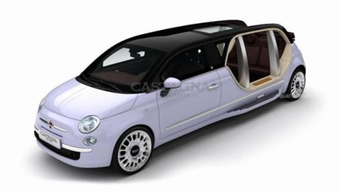 Introducing the Fiat 500 limousine