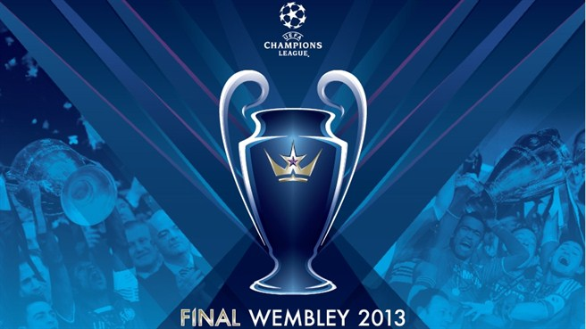 Get ready for the UEFA Champion's League Final 2013