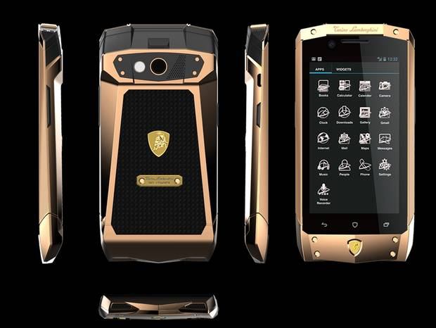 Lamborghini Launches New Smartphone