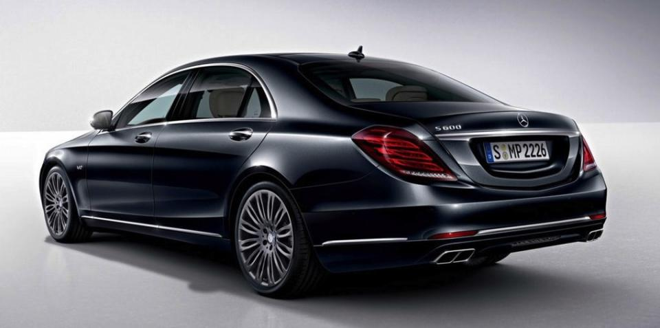 Mercedes-Benz S600 Limousine Images and Specification Sheet Leaked