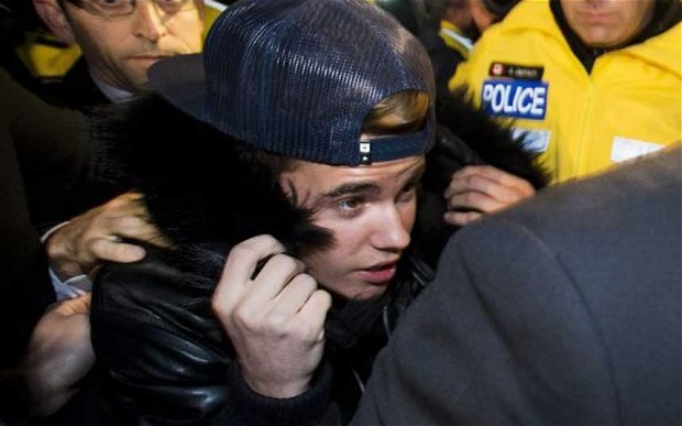 Justin Bieber Charged With Last Months Assault on Limo Driver