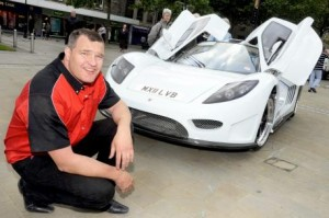 Bolton Manufactured Supercar to Beat World Land Speed Record Next Week