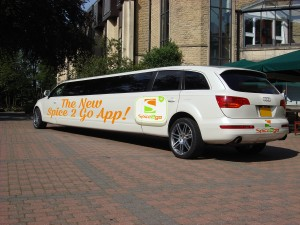 Spice 2 Go Brand Audi Q7 Limo To Launch Ordering App