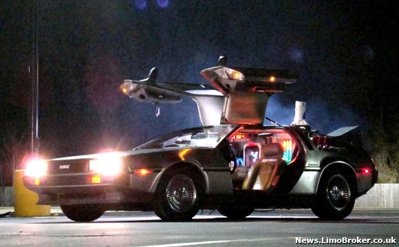 The 'Back To The Future' DeLorean Proves to be Popular at Present in Dorset!
