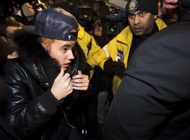 Pop star Justin Bieber cleared of assault on limousine driver