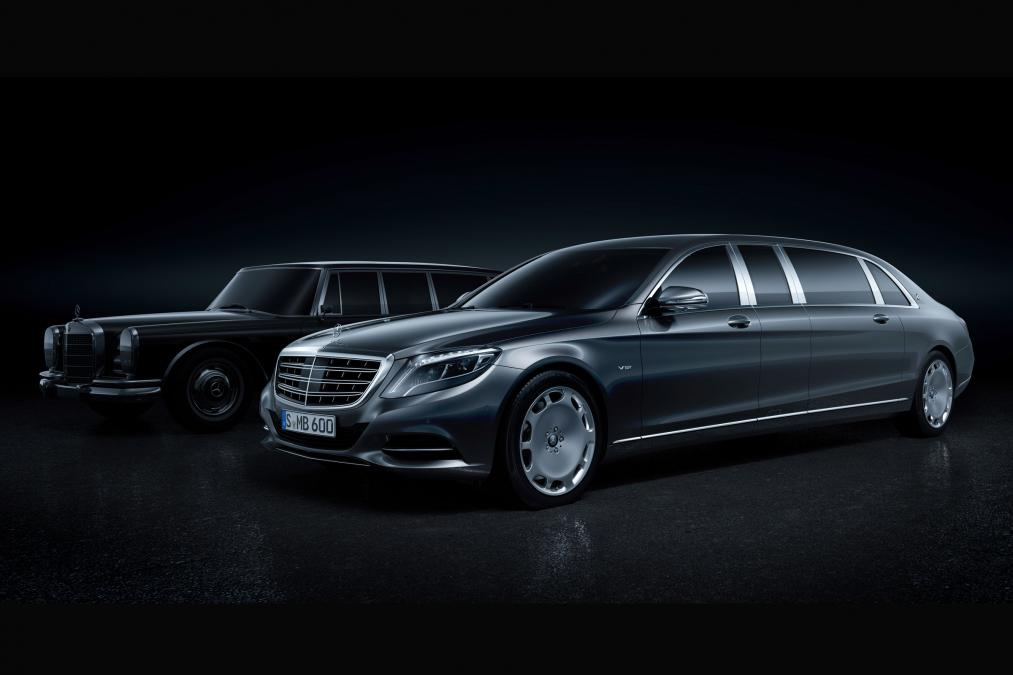 Mercedes-Maybach Limo to Debut Tomorrow in Geneva