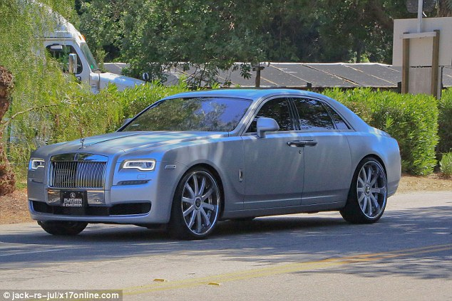 Kim Kardashian Ditches Her Rolls Royce Ghost for a Phantom