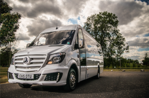 Cardiff based company converts Mercedes Sprinters to luxury Starline Party Buses