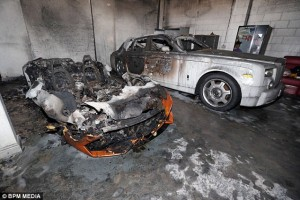 Midlands Firm Left Devastated As Arsonists Destroy Luxury Car Fleet Worth £750,000