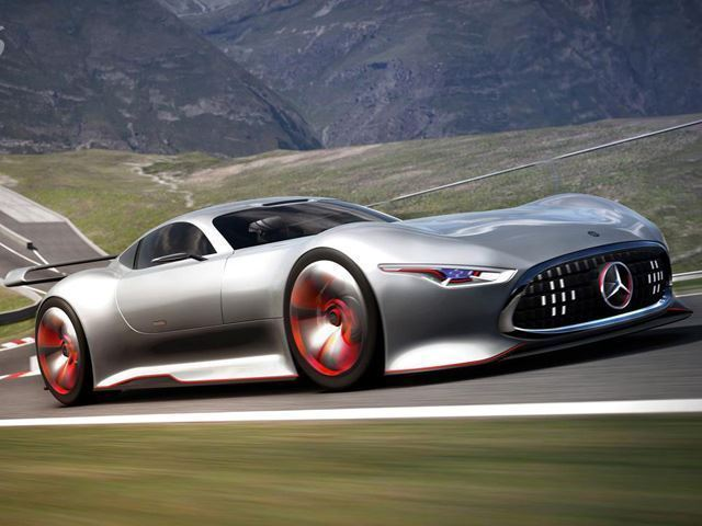AMG commemorate 50th birthday with F1 style supercar