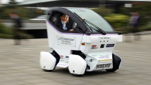 Oxford students outdo Google with robotic smart car