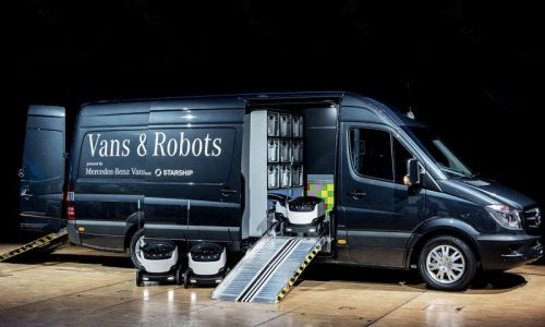 Mercedes to launch delivery robots