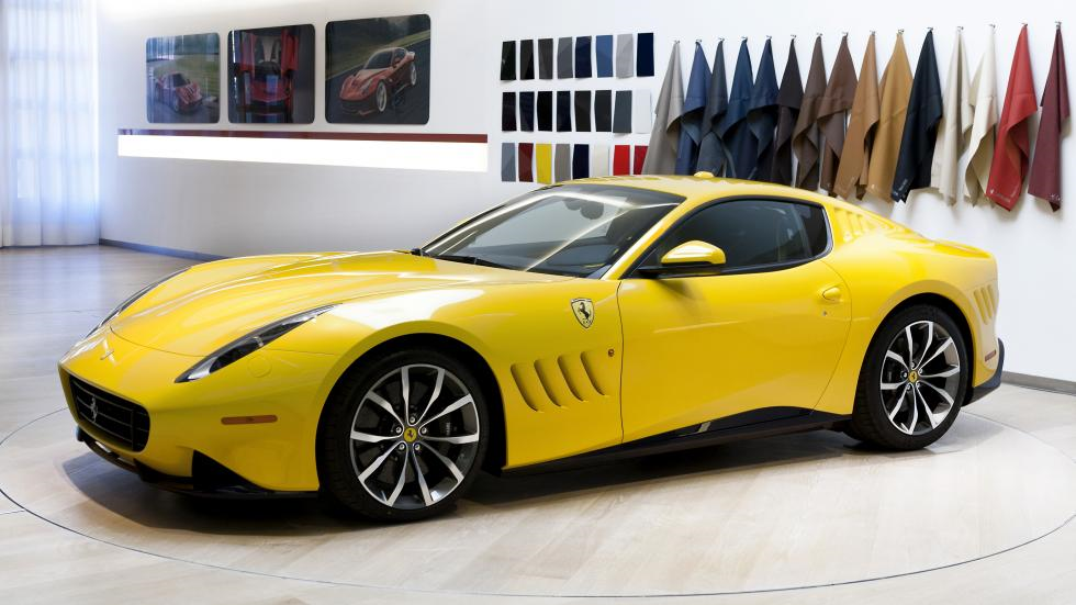 The F12tdf: a one-off from Ferrari