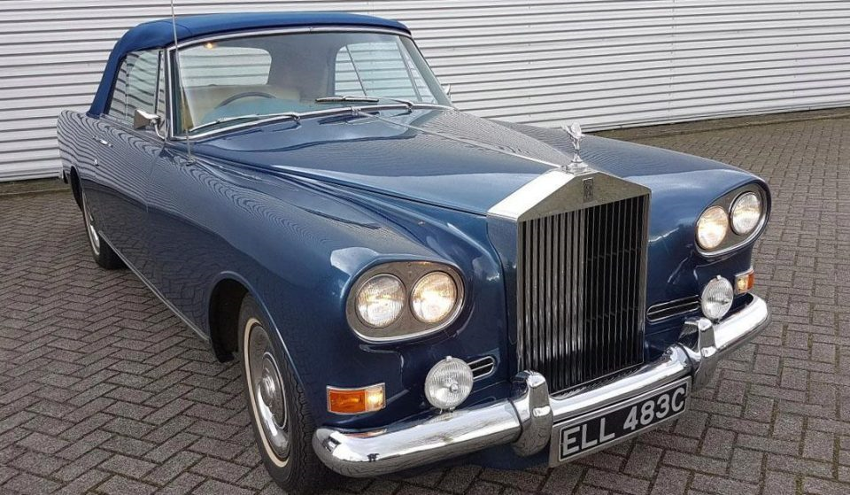 Rare rock n roll Rolls Royce up for auction