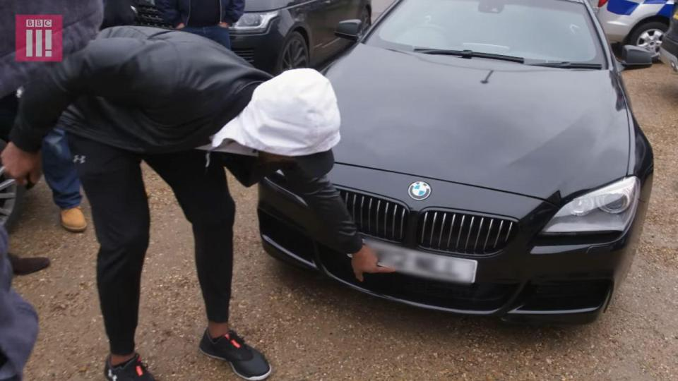 Boxer Anthony Joshua gifts ex trainer with a sleek BMW