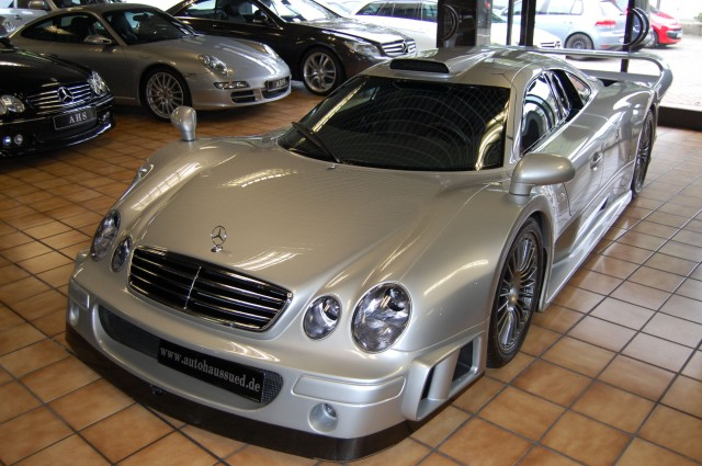 1997 Mercedes Benz Clk Gtr Goes On Sale For An Eye Watering