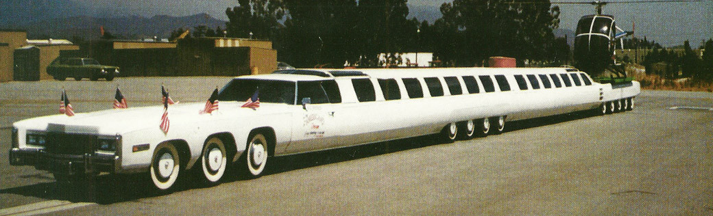 The world's most impressive limousines unveiled