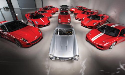 Rare collection of Ferrari cars to sell for 14 million