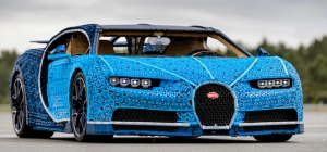 Lego Bugatti Chiron Hits London's Roads