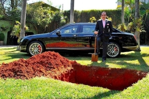 Millionaire to Bury His Bentley to 'Drive Around Afterlife in Style'