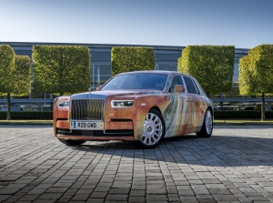 The £888k Rolls Royce Phantom Art Car
