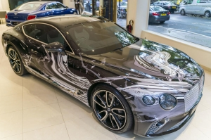 Bentley Unveil One-off Art Car